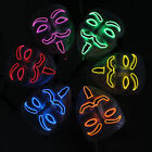 V for Vendetta LED Light Mask Fawkes Anonymous for Night Club Rave Party Costume