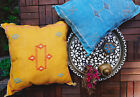 Moroccan Sabra Cactus Silk Pillow with Fun Zippers | Decorative Throw Pillow