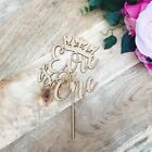 Personalised Is One Cake Topper Crown Cake Topper Cake Decoration Cake Decoratin