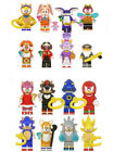16Pcs Sonic The Hedgehog Minifigure Fit Lego Kids Toy Collection Birthday Gift