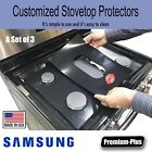 Samsung Stove Protectors, Custom cut to fit your Stove, Lifetime Warranty photo