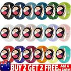For Samsung Galaxy Watch Active2 40/44mm Sports Silicone Fitness Bands Straps