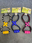 Dog Rope Toy With Teether *Yellow*Blue*Pink*Puppy Teether Toy