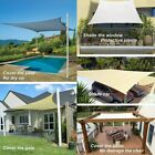 Sun Shade Sail Canopys Garden Patio Awning UV Protection Sunscreen Outdoor