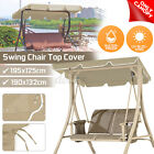 Outdoor Patio Swing Canopy Top Replacement Cover Garden UV Protect Rainproof US