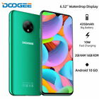 Doogee 4g Lte 6,52 Android 10 Smart Phone Unlocked Mobile Phone 16gb 4350mah X95