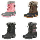 Toddlers Boys Girls Snow Boots Waterproof Mid-Calf Winter Warm Boots Snow Boots