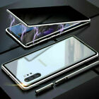 Full Magnetic Glass Anti-Spy Case 360 For Samsung S20 Plus S10S8S9 Note 20 10 98