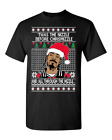 Ugly Christmas Sweater T-SHIRT | Snoop Dog Fo Shizzle Dizzle | Funny |Christmas