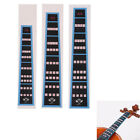 Violin Fingerboard Sticker Fretboard Note Label Finge Chart Practice·accessoy Ku