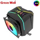 Great Wall CPU Cooler ARGB 90mm Fan Cooling Aura Sync Intelligent Speed Regulat.