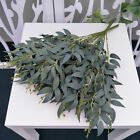 Artificial Fake Leaf Green Plant Eucalyptus Nordic Home Silk Flowers Decor Uk