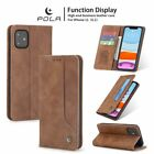 For Iphone 12 Pro Max 11 Xs 8/7/6s Plus Leather Wallet Case Card Slot Flip Cover