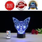 NEW Cat Lamp 3D Color Changing LED Light Strip Bulb with Remote Indoor & Outdoor