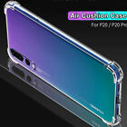 Clear Shockproof Soft Silicone Cover Case For Huawei Y5 Y6 Y7 Prime 2018 Y9 2019