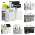 Bedside Caddy Hanging Storage Bags Pockets Bed Holder Couch Organizer Container