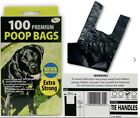 Two size of Dog Poo Bags extra strong  (Dog Poop Bag/Waste Bags) - Black Tie Han