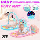 Soft Baby Gym Floor Play Mat Musical Activity Center Kick  Piano Toy Xmas Gift
