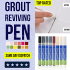 Grout Pen Anti-Mould Reviver Repair Restoration Kit Whitener Renew Tile Gap Line