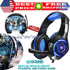 Pro Gaming Headset With Mic XBOX One PS4 Headphones, Wireless Microphone, Beats