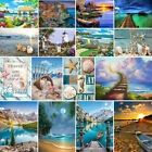 Full Drill Sea Beach Animal 5D Diamond Painting Cross Stitch Hand Embroidery Kit