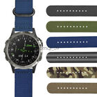 Watch Band for Garmin D2 Delta PX, 26mm Military Durable Nylon Wristwatch Strap