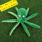 8 Legs Octopus Soft Stuffed Plush Squeaky Dog Squeakers Toys Sounder