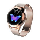 Fitness Smart Watches Bluetooth Gold Women Lady Heart Rate Tracker iOS Android