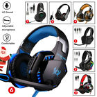 XMAS GIFT - 3.5mm Gaming Headset Surround Sound Mic Headphones For PC PS4 PS5
