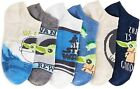 MANDALORIAN BABY YODA STAR WARS 6-Pack Low Cut No Show Socks Kids Ages 4-16 NWT
