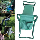 Garden Kneeler Seat Stool with Foam Pad Portable Folding Kneeling Chair Tool Bag