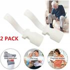 2PCS Unisex Lazy Shoe Helper Handled Shoe Horn Easy on & Off  Lifting Helper