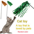 Playing Teaser Mouse Colorful Ribbon Teasing pet toys Cat Funny Wand