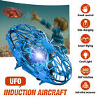 Hand Flying UFO Ball LED Mini Induction Suspension USB RC Aircraft Drone Kid Toy