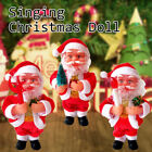 'Electric Singing Santa Claus Toy Doll With Music Home Decor Christmas Gifts Uj