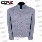 US Civil War CS Multi Color Pipping Trim Gray Wool Shell Jacket All Sizes!