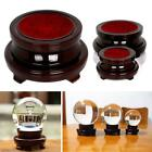 Super Wood Display Stand Base Holder For Crystal Ball Stone De Globe  Sphere