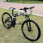 Unisex Adult Mountain Bike Full Suspension 26