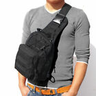 Men Backpack Tactical Sling Bag Chest Shoulder Fanny Pack Cross Body Pouch Sport