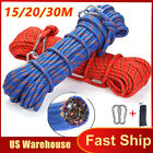 USA Climbing Escape Rope Outdoor Cord Safety Rope Fire Rescue Parachute Rope