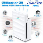 Large Room Powerful Air Purifier with Washable Filter True HEPA 5Stage 1500sqft