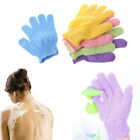 1PC Skin Bath Gloves Exfoliating Wash Skin Shower Spa Body Scrubber Massage