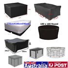 10 Size Waterproof Outdoor Patio Garden Furniture Rain Snow Uv Cover Table  !