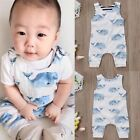 Toddler Infant Baby Boys Summer Shark Romper Jumpsuit Sunsuit One-Pieces Clothes
