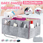 Large Baby Diaper Organizer Caddy Changing Nappy Kids Storage Carrier Handbag