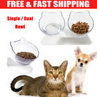 Bowl Raised Stand For Cat Pet Dog Puppy Non-Slip Feeder Food Water Bowl