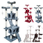 Multilevel Cat Tree Scratching Post Kitten Climbing Tower Activity Centre sj