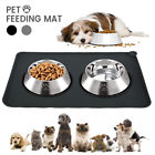 Pet Puppy Silicone Waterproof Feeding Food Mat Dog Cat Non Slip Bowl Placemats