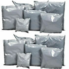 GREY POSTAL PACKAGING BAGS PLASTIC MAILING 'ALL SIZES' + FREE 48 HOUR COURIER