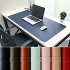 Pu Leather Game Mousepad Desk Writing Mat Laptop Pad Surface Protective